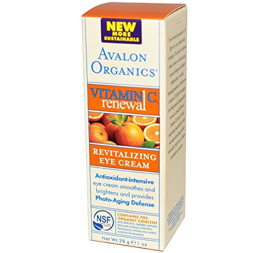 Avalon Organics Vitamin C Renewal Revitalizing Eye Cream