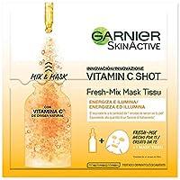 Garnier Skin Active Fresh Mix Mask Tissu - Mascarilla Hidratante con Vitamina C