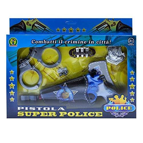 Mazzeo Giocattoli Set Pistola Giocattolo Polizia