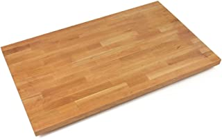 John Boos CHYKCT3625-V Cherry Kitchen Counter Top with Varnique Finish, 1.5