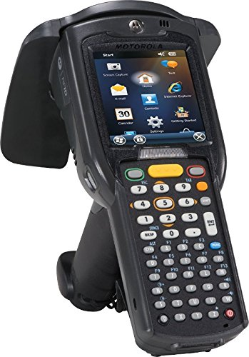 Learn More About Zebra Technologies MC319Z-GL4H24E0W Technologies Series MC3190-Z Hand Held RFID Reader, WLAN 802.11 A/B/G, 1D Laser, Color Touch Screen, 256 MB/1 GB, 48 Key, WM 6.5, High Capacity 4800 Mah Battery