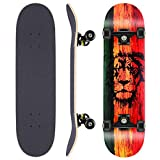 WeSkate Skateboard Complete Board 79x20cm Tablero de...