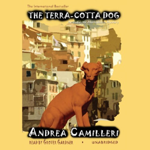 The Terra-Cotta Dog audiobook cover art