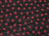 Stoff mit gepunktetem Muster, Viskose, Chiffon, Kleidstoff,