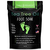 Best OPI Nail Fungus Treatments - Tea Tree Oil Foot Soak with Epsom Salt Review