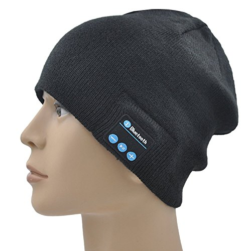 SB210 HD Stereo Bluetooth 4.1 Wireless Smart Beanie Headset Musical...