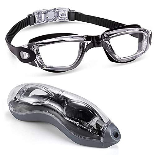 Occhialini da nuoto impermeabili e anti appannamento unisex