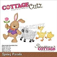 """CottageCutz Dies-Spring Parade .9"""" To 3"""""""