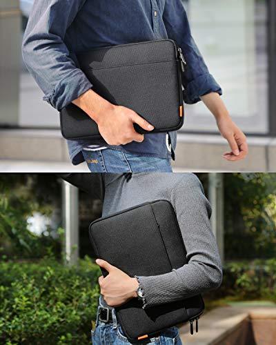 Inateck Tasche Hülle Kompatibel mit 13 MacBook Air 2020 M1-2018, 13 MacBook Pro 2020 M1-2016, Surface Pro X/7/6/5/4/3/, XPS13, 12.9 iPad Pro, Laptop Sleeve Case Laptophülle
