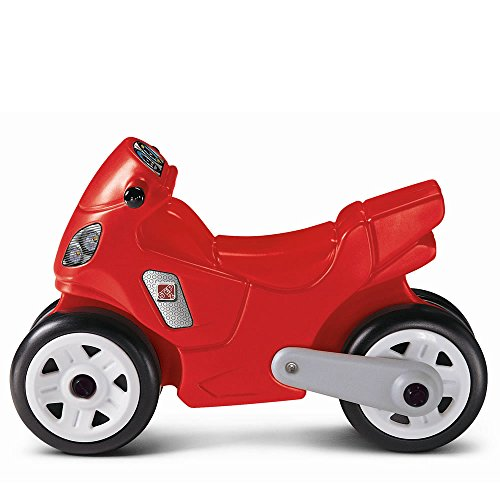 Step2 Riding Motorcycle for Toddler -  Durable Ride On Bike Toy, Red