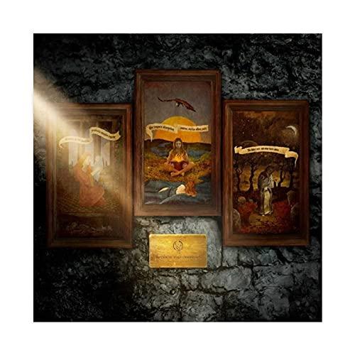 Opeth - Póster de comunión pálida para decoración de pared (60 x 60 cm)
