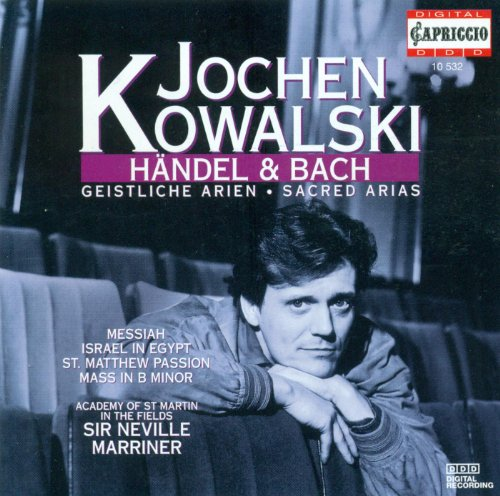 Vocal Recital: Kowalski, Jochen - Bach, J.S. / Handel, G.F.