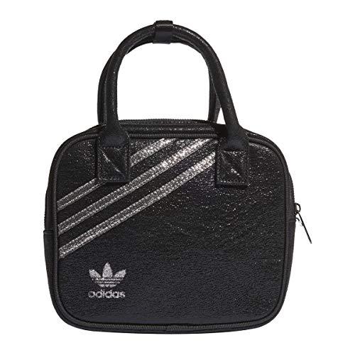 adidas GN2139 Bag - Mochila deportiva para mujer, color negro y plateado