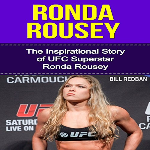 Ronda Rousey audiobook cover art