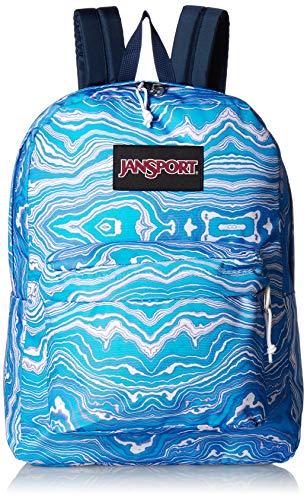 Jansport Women's Black Label Superbreak Fabric backpack - Blue Geode
