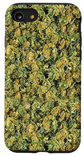 iPhone SE (2020) / 7 / 8 Weed Buds 420 Marijuana Cannabis 4:20 Pot Weed Legalize Case