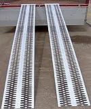 Rampa da carico perforata - Portata max 2250kg - Larghezza 315mm...