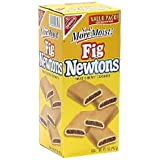 One 32-ounce box of fig cookies Made from enriched wheat flour and figs No saturated fats, trans fats, or cholesterol Enjoy this classic snack anytime of day Fig Newtons were invented by James Henry Mitchell in 1891 in Massachusetts