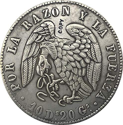 1839 Chile 8 Reales Copia Moneda 39MM
