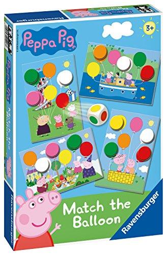 Ravensburger 21406 Wutz Peppa Pig Ballon-Brettspiel ab 3 Jahren – EIN tolles Geschenk für Kinder
