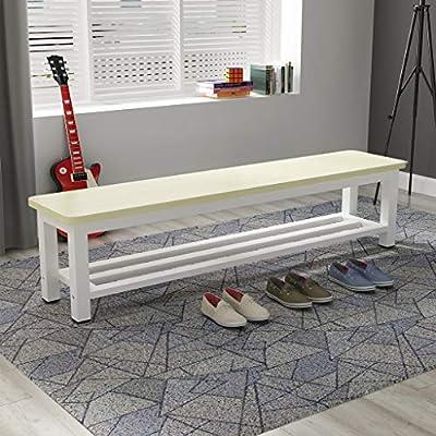 ❤Material: panel de madera respetuoso con el medio ambiente Dimensiones ❤ (aprox.): 80 * 35 * 45 cm, 100 * 35 * 45 cm, 120 * 35 * 45 cm, 130 * 35 * 45 cm, 140 * 35 * 45 cm, 150 * 35 * 45 cm ❤Espacio aplicable: mesa de comedor, parque, sala de estar, ...
