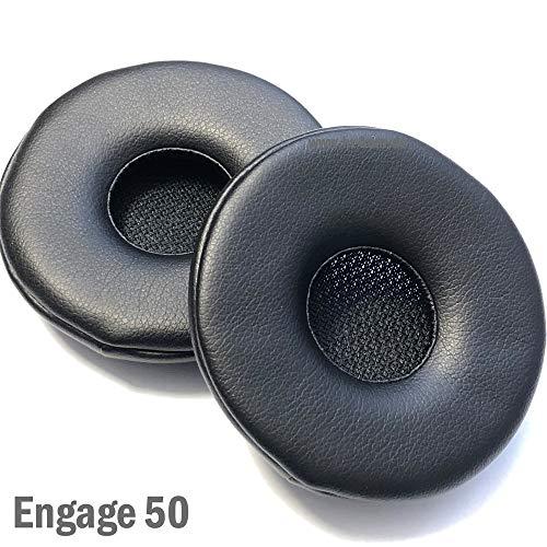 Jabra Engage 50 - Almohadillas de piel para auriculares (2 unidades)