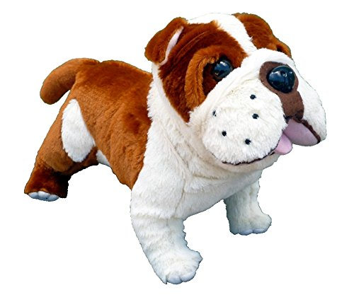Adore 14' Standing Buddy The Farting Bulldog Plush Stuffed Animal Toy