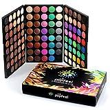 Tefamore Paleta De Sombra De Ojos 120 Colores De Polvos Cosméticos En Maquillaje Conjunto De Mate...