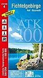 Blatt 4 Fichtelgebirge 1:100 000 (ATK100 Amtliche Topographische Karte 1:100000 Bayern)
