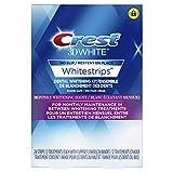 Crest 3D White Whitestrips Monthly Whitening Boost Kit, 24 Teeth Whitening Strips, 12