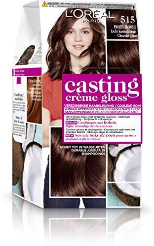 L'Oréal Paris Casting Crème Gloss 515 Brownie Gefrorenes Licht Auburn