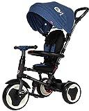 Sun Baby J01.013.1.3 Triciclo Qplay Rito-Blue, Multicolore