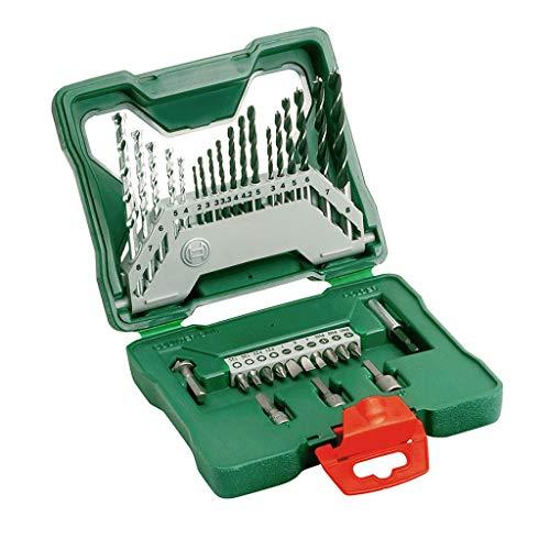 Schraubendreher Set 33 Tlg Für Bosch Elektrowerkzeuge, Professional Zubehör 33 Bohrköpfe Percussion Bohrer Mit Gemischtem Kopf