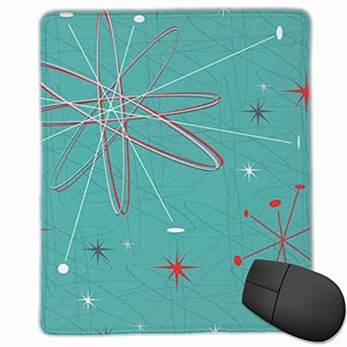 Gaming Mouse Pad, personalisierte benutzerdefinierte Maus Padnon-Slip Rubber Gaming Mouse Pad, bleiben Sie positiv, arbeiten Sie hart und lassen Sie es geschehen Illustration-Reminiscent-April-Turner