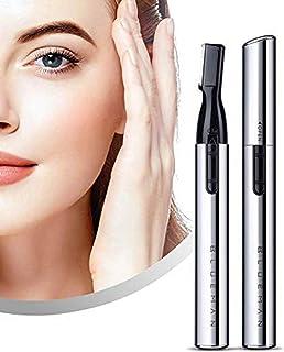 電動シェーバー 眉毛 女性シェーバー、美眉 眉毛カッター 眉毛剃り 女性 男性 顔そり 軽量 持ち運び便利 お風呂/出張/旅行/海外に適用、持ち運び便利 モデルD321X (白い)