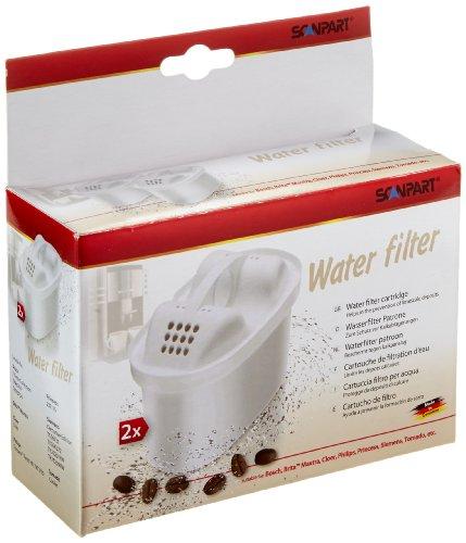 Braun 2790000450 Tassimo waterfilter, 2 stuks