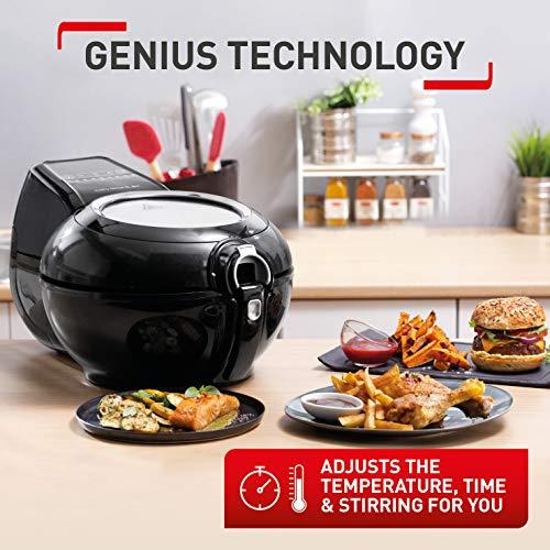 Tefal ActiFry Genius XL 2in1 SERIE O40-A Health Air Fryer, Black, 1.7 kg, 8 Portions
