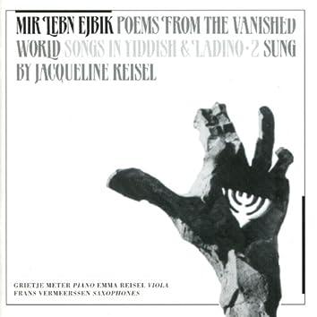 Mir Lebn Eybik - Poems of the Vanished World: Songs in Yiddish & Ladino, Vol. 2