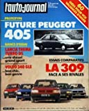 AUTO JOURNAL (L') N? 19 du 01-11-1985 SOMMAIRE - ESSAIS - LANCIA THEMA TURBO DS -...
