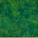 Island Batik 0674994 Enchanted Forest Grass Fairway Fabric