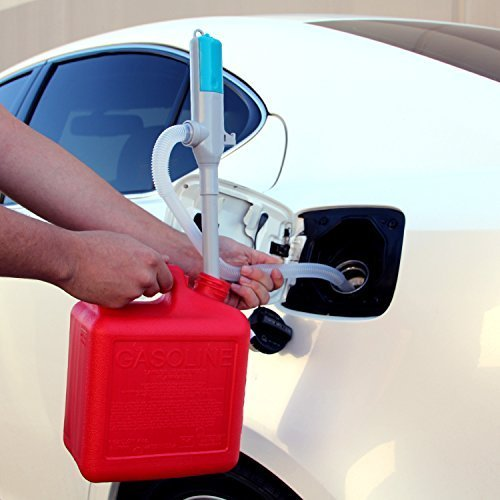 TERAPUMP TRHA01 Battery Powered Gas, Oil, Diesel, Water Transfer Pump, 2 AA Batteries