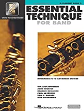 Essential Technique for Band with EEi - Intermediate to Advanced Studies: Bb Clarinet (Essential Elements Method)