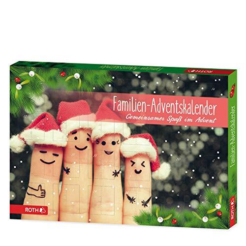 Premium Adventskalender für die ganze Familie | Advents-kalender | Weihnachtskalender | Kalender | Familie | Weihnachts-kalender mit 24 Überraschungen | Weihnachtskalender als Geschenk