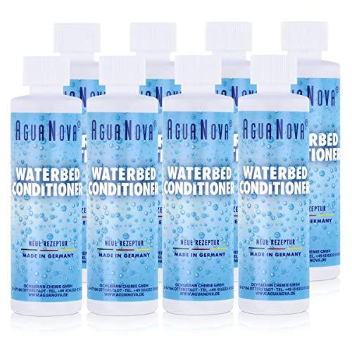 8x AguaNova Wasserbett Conditioner 250 ml, für Wasserbetten - Konditionierer