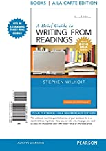 Best a brief guide to writing from readings Reviews