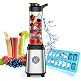 Personal Blender, Smoothie Blender Single Serve Small Blender for Juice Shakes and Smoothie, with Ice Tray