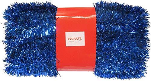 YYCRAFT, Ghirlanda Natalizia Natalizia Classica, Lunghezza 9,1 m, Colore Reale