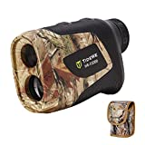 TIDEWE Hunting Rangefinder with Rechargeable Battery, 1000Y Realtree Xtra Camo Laser Range Finder 6X Magnification, Distance/Angle/Speed/Scan Multi Functional Waterproof Rangefinder with Case