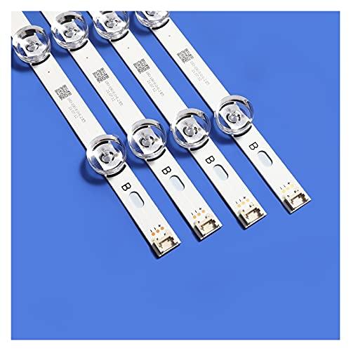 L1YAFYA DIRIGIÓ Lámpara de Tira de retroiluminación 8 para LG 42 Pulgada TV INNOTEK DRT 3. 0 42' 6916L 1709B 1710B 1957E 1956E 6916L- 1956A 6916L- 1957A 42LB56 1V