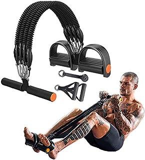 GLACX Entrenamiento de Resistencia multifunción, Ejercicio de piernas, Bandas de Cuerda de tirón de tensión con asa, Acces...